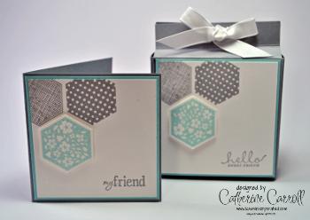Six sided sampler box