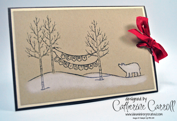 White Christmas slider