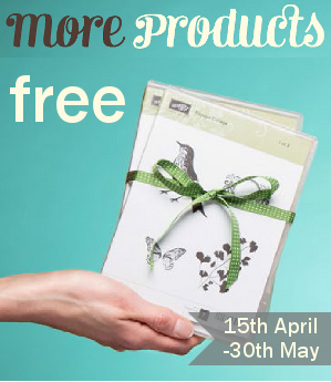 stampin up £25 free promotion